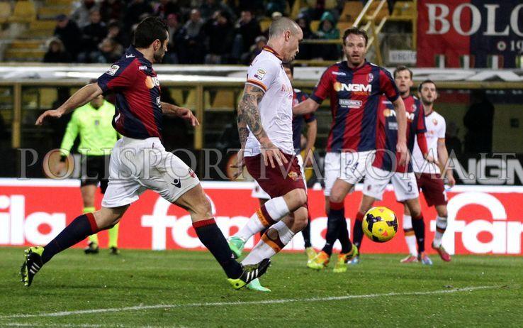 SERIE A – Vola l'AS Roma a Bologna. Gol di Nainggolan e 3 punti in cassaforte