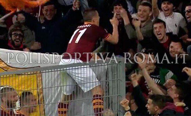 SERIE A – La Roma batte il Parma e conquista l'accesso in Champions League. Taddei Core de Roma