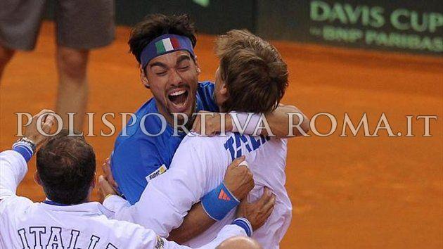 COPPA DAVIS – L'Italia vola in Semifinale. Grande impresa di Fognini, battuto Murray