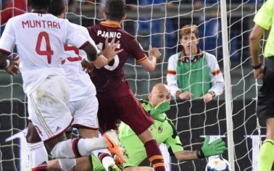 AS ROMA – Milan al tappeto grazie ad una partita perfetta dei Giallorossi. Gol capolavoro di Pjanic