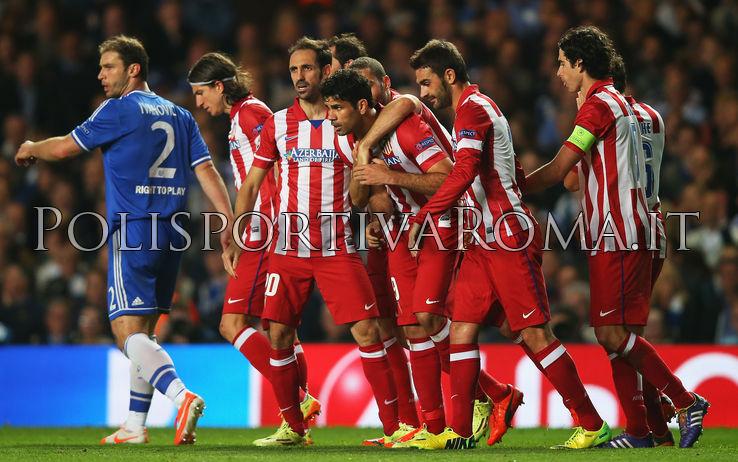 Polisportiva Roma | News Calcio – L'Atletico Madrid asfalta Mourinho In Champions. Derby di Madrid per la Finale di Lisbona