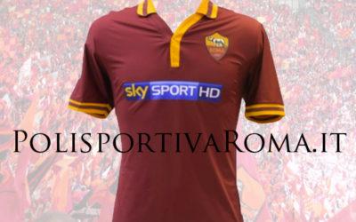 AS ROMA – Ecco le Maglie Sky, indossate contro Juventus e Genoa