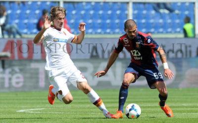 SERIE A – Terza sconfitta consecutiva per l'AS Roma a Genova. Il Parma tona in Europa