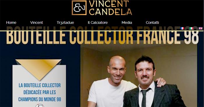 AS ROMA – L'ex Campione d'Italia Vincent Candela sbarca sul Web. Sito, Facebook, Twitter per tornare protagonista con la gente!