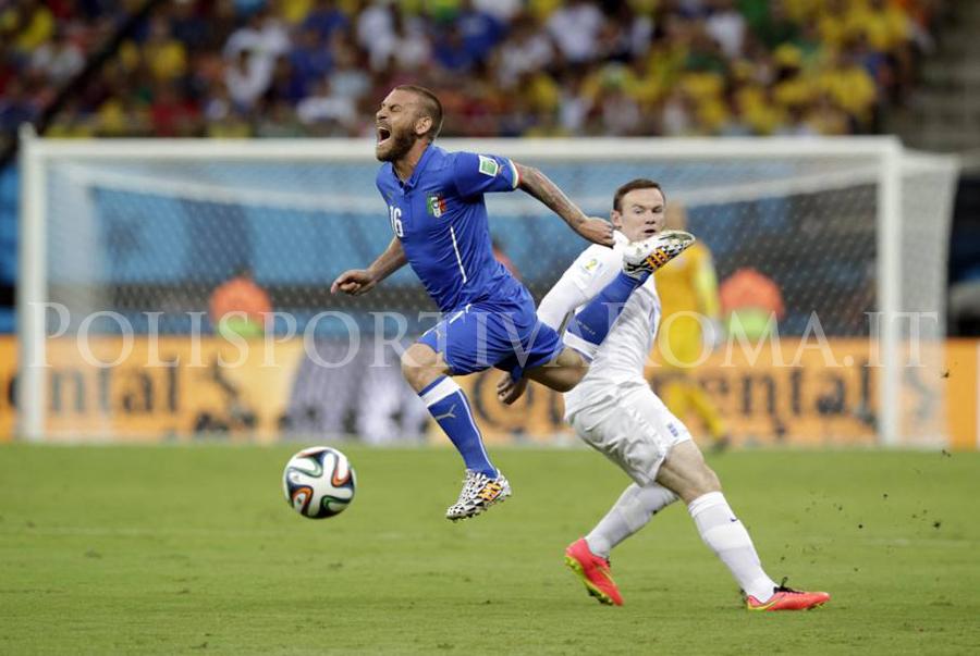 Mondiali Brasile 2014 - Italia vs Inghilterra - De Rossi