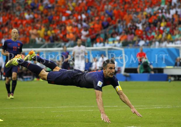 Mondiali Brasile 2014 - Spagna vs Olanda - Van Persie