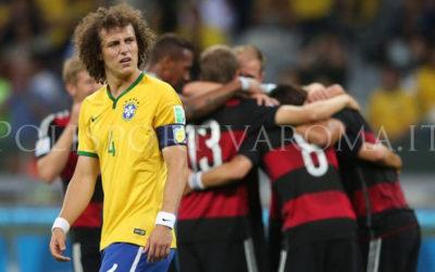 Polisportiva Roma   News Calcio – ASFALTATI! Al Mondiale in Brasile la Germania umilia il Brasile in casa e vola in Finale. 7 a 1 storico