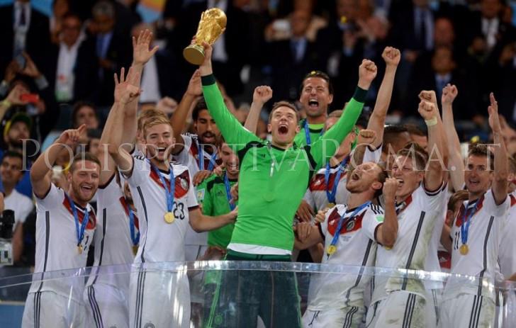 Mondiali Brasile 2014 - Germania Campione del Mondo
