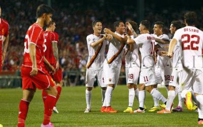 AS ROMA – Vittoria dei Giallorossi a Boston contro il Liverpool. Decide Borriello