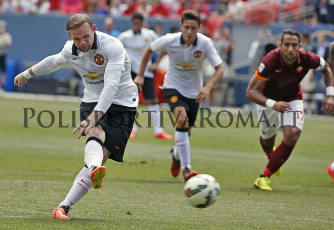 AS ROMA – I Giallorossi battuti 3-2 dal Manchester United nella Guinnes Cup. Capolavoro di Pjanic e doppietta di Rooney