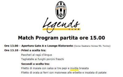 """Polisportiva Roma   News Calcio – Juventus? Tutta """"invidia"""", ecco le prove…"""