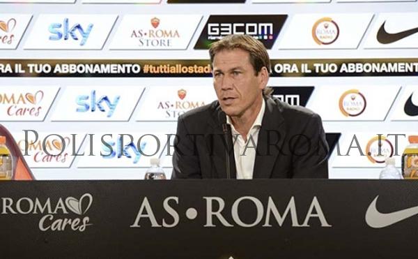"""AS ROMA SERIE A – Al via il Campionato. In Conferenza Stampa Rudi Garcia carica l'ambiente: """"Abbiamo tutti voglia di Vincere!"""""""