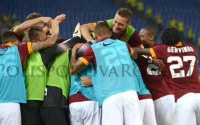 AS ROMA SERIE A – Sofferta vittoria contro l'Hellas Verona. Decidono ancora Destro e Florenzi. E' fuga con la Juve