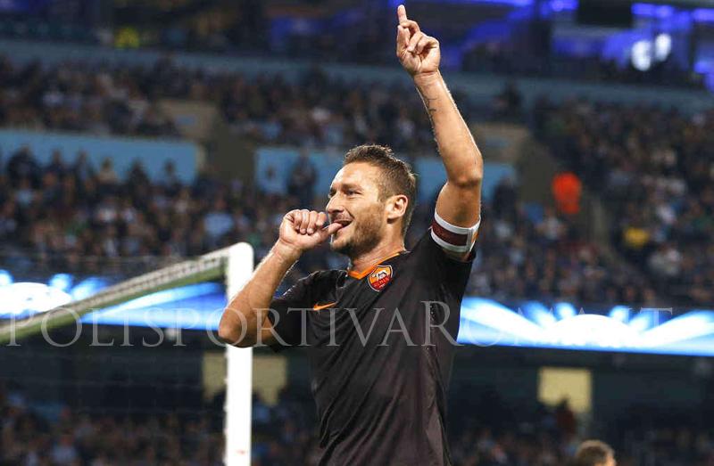 AS ROMA CHAMPIONS LEAGUE – Giallorossi Forti… Totti Leggenda!
