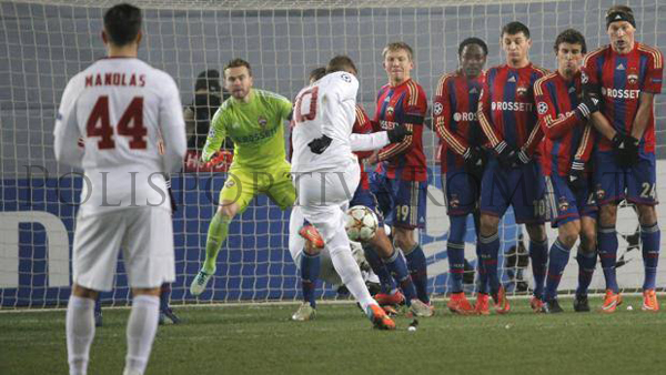 """AS ROMA CHAMPIONS LEAGUE – Che Beffa! Totti segna e poi il pari Russo a 10"""" dalla fine"""