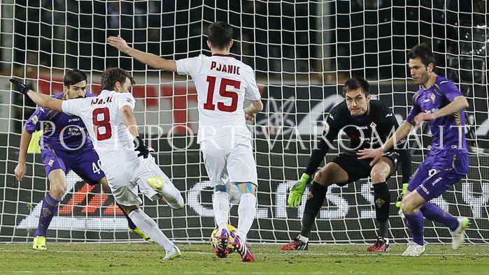 AS ROMA SERIE A – Fiorentina-Roma 1-1, Ljajic segna il gol dell'ex, la Juve si allontana