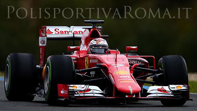 FORMULA 1 – Test di Jerez: La Ferrari sorride, Raikkonen secondo dietro un super Nasr