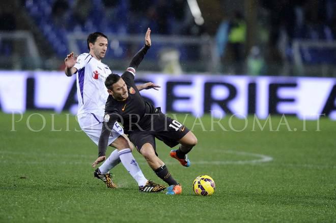 AS Roma Coppa Italia – La Fiorentina espugna l'Olimpico con Gomez, Roma fischiata dai tifosi