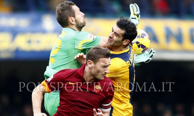 AS ROMA SERIE A – Verona Roma 1-1, Giallorossi incapaci di vincere. La Juve scappa a +9