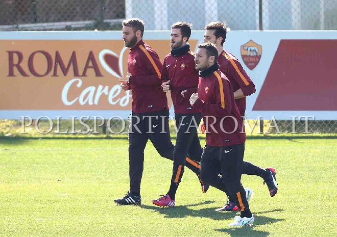 AS Roma Europa League – Giallorossi al lavoro a Trigoria per preparare il ritorno col Feyenoord