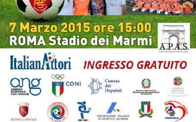 Polisportiva Roma | News Calcio – 7 Marzo allo Stadio dei Marmi, donne in campo per dare un calcio alla violenza