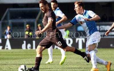 AS ROMA SERIE A – Chievo Roma 0-0, i Giallorossi non riescono più a vincere