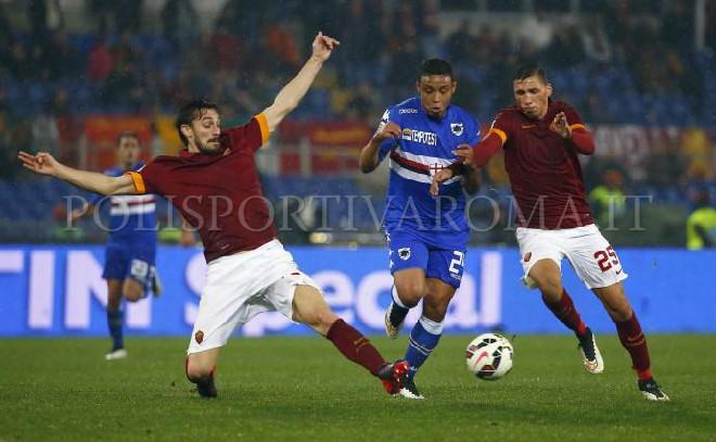 AS ROMA SERIE A – Roma Sampdoria 0-2, Giallorossi contestati a fine gara