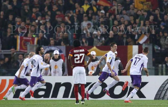 AS Roma Europa League – Roma Fiorentina 0-3, Giallorossi travolti dai Viola che passano ai Quarti di finale.