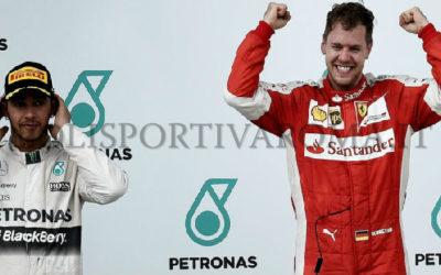 FORMULA 1 – Trionfo Ferrari, uno strepitoso Vettel vince in Malesia