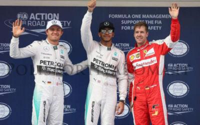F1 – Nel GP di Cina trionfa Hamilton. Bene le Ferrari