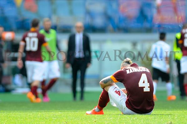 AS ROMA SERIE A – Un altro pari. Gol di Totti e pareggio nerazzurro. Niente controsorpasso