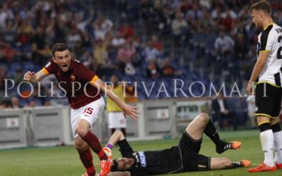 AS ROMA SERIE A – Nainggolan e Torosidis stendono l'Udinese e portano i Giallorossi al secondo posto