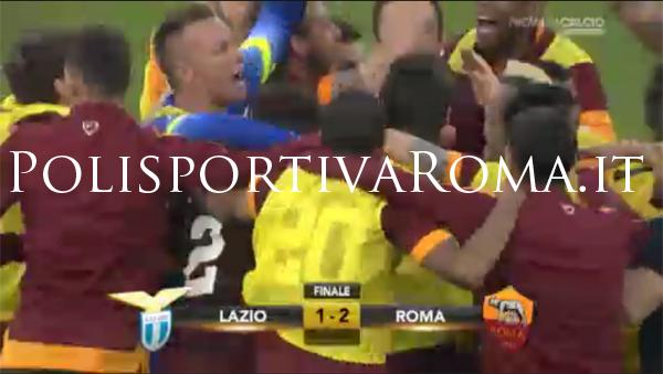 AS ROMA SERIE A – Derby alla Roma. La Lazio schiantata