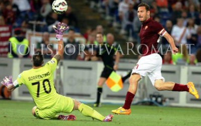 AS ROMA SERIE A – Ultima da dimenticare. Si salva solo Totti contro il Palermo
