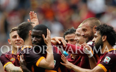 AS Roma Serie A – Totti 600 in A con Assist. Giallorossi secondi