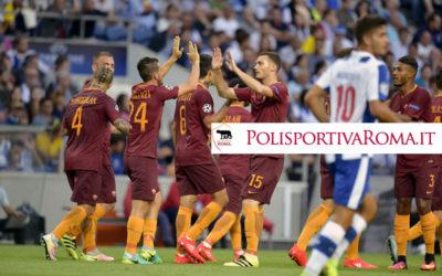 AS ROMA CHAMPIONS LEAGUE – 1 a 1 nel preliminare con il Porto. Difesa da rivedere