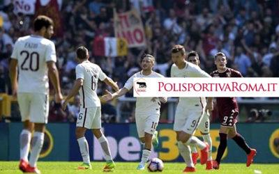 AS Roma Serie A – Brutta Roma. Società, giocatori, allenatore devono cambiare strada!