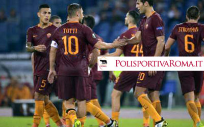 AS ROMA EUROPA LEAGUE – 4-0 all'Astra Giurgiu. Totti migliore in campo!