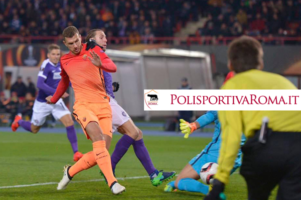 AS ROMA EUROPA LEAGUE – Austria Vienna battuta in scioltezza