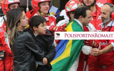 F1 – Domina la pioggia. Vince Hamilton. Massa addio con lacrime!