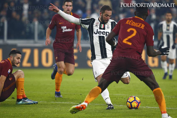 Serei A - Juventus vs AS Roma - Gol Higuain