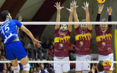 News Sezioni | Alla Roma Volley non bastano coraggio e grinta