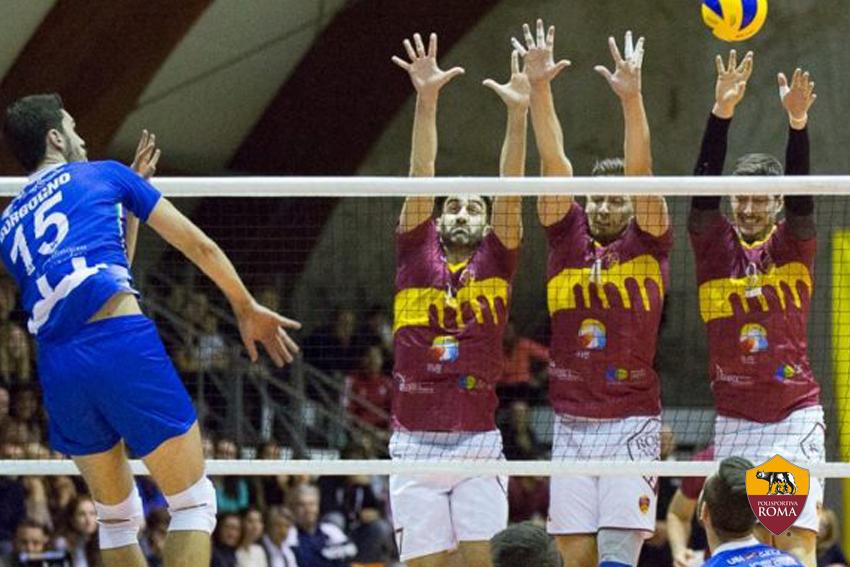 Polisportiva Roma | News Sezioni - Roma Volley vs Mondovì - Paolucci e Rau