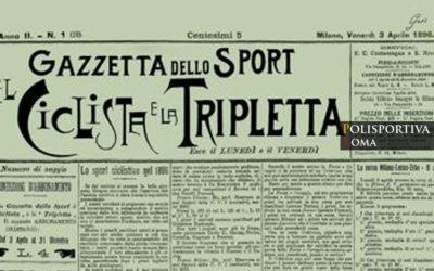 3 Aprile 1896, Nasce la Gazzetta dello Sport… in Verde!
