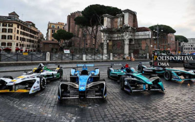 Formula E – Il Gp di Roma in diretta su Italia 1