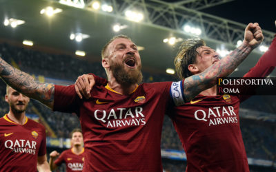 Samp vs AS Roma 0-1 – Decide il Gol di Capitan De Rossi