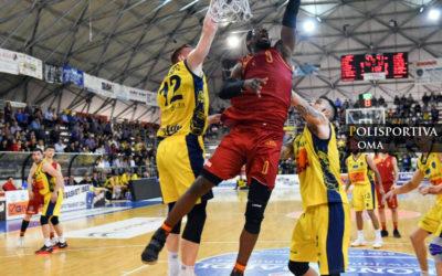 Virtus Roma vs Scafati con le Telecamere di Sportitalia
