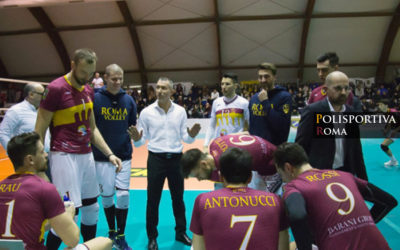 Testa e Cuore per l'assalto della Roma Volley ad Ortona. Ingresso a 5 euro