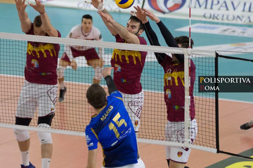 Ortona mette la freccia e passa il turno, Roma Volley in A3