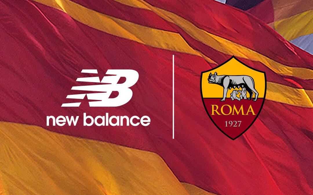 New Balance nuovo sponsor tecnico della AS Roma